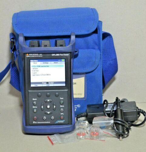 AFL Noyes OFL 280-100 SM Fiber FlexTester OTDR w VFL Power Mtr OFL280-100 OFL280