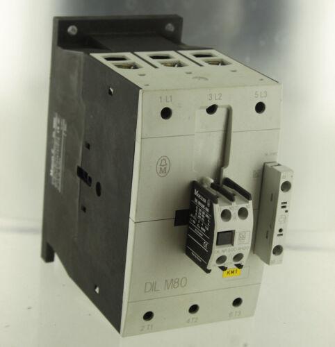 EATON MOELLER ELECTRIC DILM-80C CONTACTOR