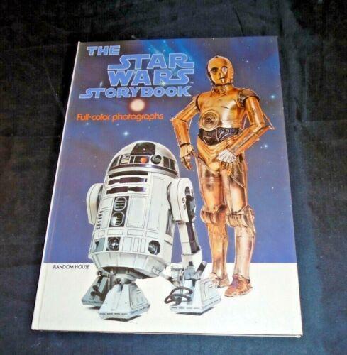 2 X The Star Wars Storybook Vintage  Random House 1978  Hardcover   MC