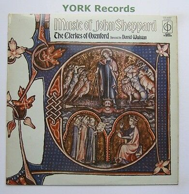 CFP 40265 - MUSIC OF JOHN SHEPPARD - The Clerkes Of Oxenford - Ex Con LP Record