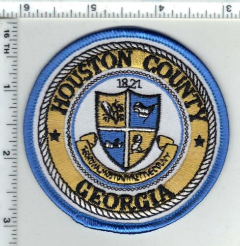 Houston County Police (Georgia) Shoulder Patch new 1980
