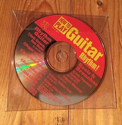 Learn To Play Guitar CD/Music Tuition/Rhythm/Self Teaching/Volume 3