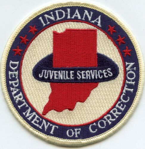 INDIANA IN STATE JUVENILE DEPARTMENT OF CORRECTIONS DOC sheriff police PATCH