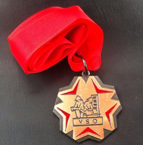 Croatia badge Firefighting VSO  medal Yugoslavia SFRJ- Vatrogasni savez općina !