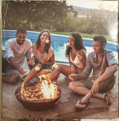 NEW! El Fuego Fire Pit Patio Garden Heater Outdoor BBQ Camping, Wood Burner