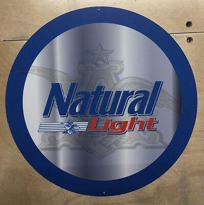 Natural Metal - Natural Light 12 Inch Metal Sign