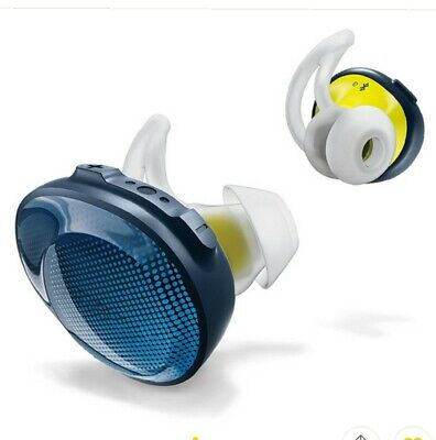BOSE SOUNDSPORT FREE WIRELESS EARBUDS W/ CHARGING CASE NAVY BLUE