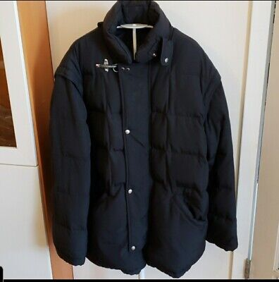 FAY Mens Thick Warm Quilted Puffer Jacket Vest Size L ITALY