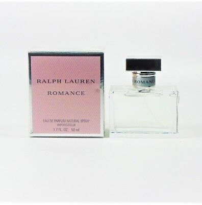 Edp Box - ROMANCE by Ralph Lauren EDP for Women 1.7 oz - 50 ml *NEW IN SEALED BOX*
