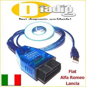 AutoDia K410 für Multiecuscan Fiat Alfa Romeo Lancia Interface KL OBD 2 Diagnose