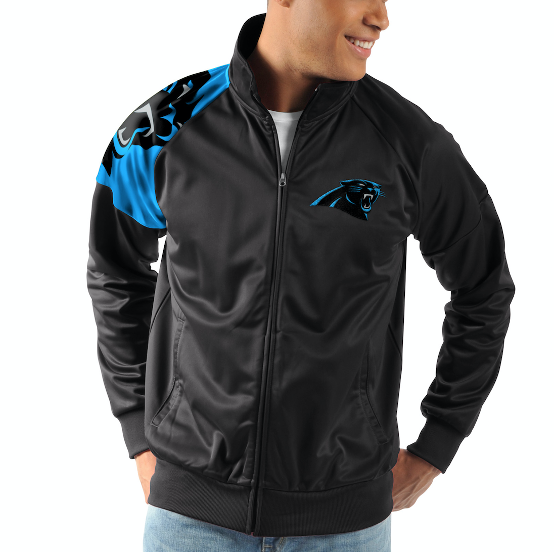 Carolina Panthers G-III Sports INTERCEPTION Full-Zip NFL Tra