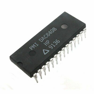 Dac8408 Analog To Digital Converter 8-bit Mpu Compatible - Lot Of 1 Or 3.