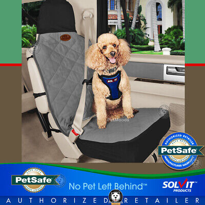 PetSafe Car Bucket Seat Cover Grey by Solvit