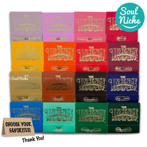 The Original Incense Matches - Scented Matches - Choose From 16 Fragrances!