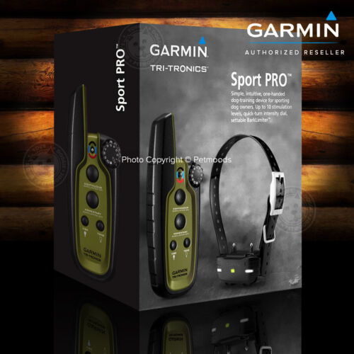 Garmin Sport PRO Bundle Dog Training Device with $50 Rebate