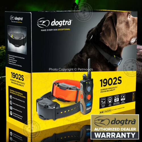 Dogtra 1902S Remote Trainer IPX9K e-Collar 3/4-mile range 2-Dog System