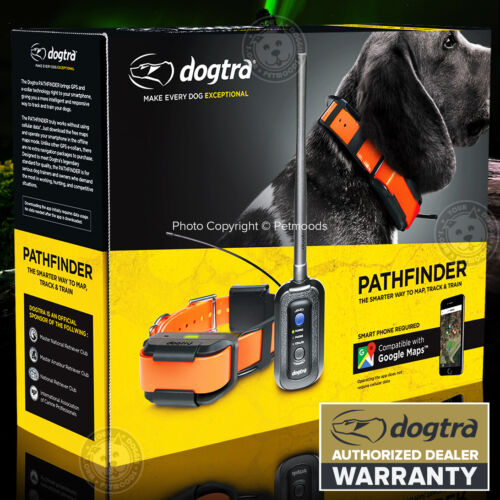 Dogtra GPS Pathfinder Dog Tracking + Training E-Collar 9-Mile SmartPhone Control
