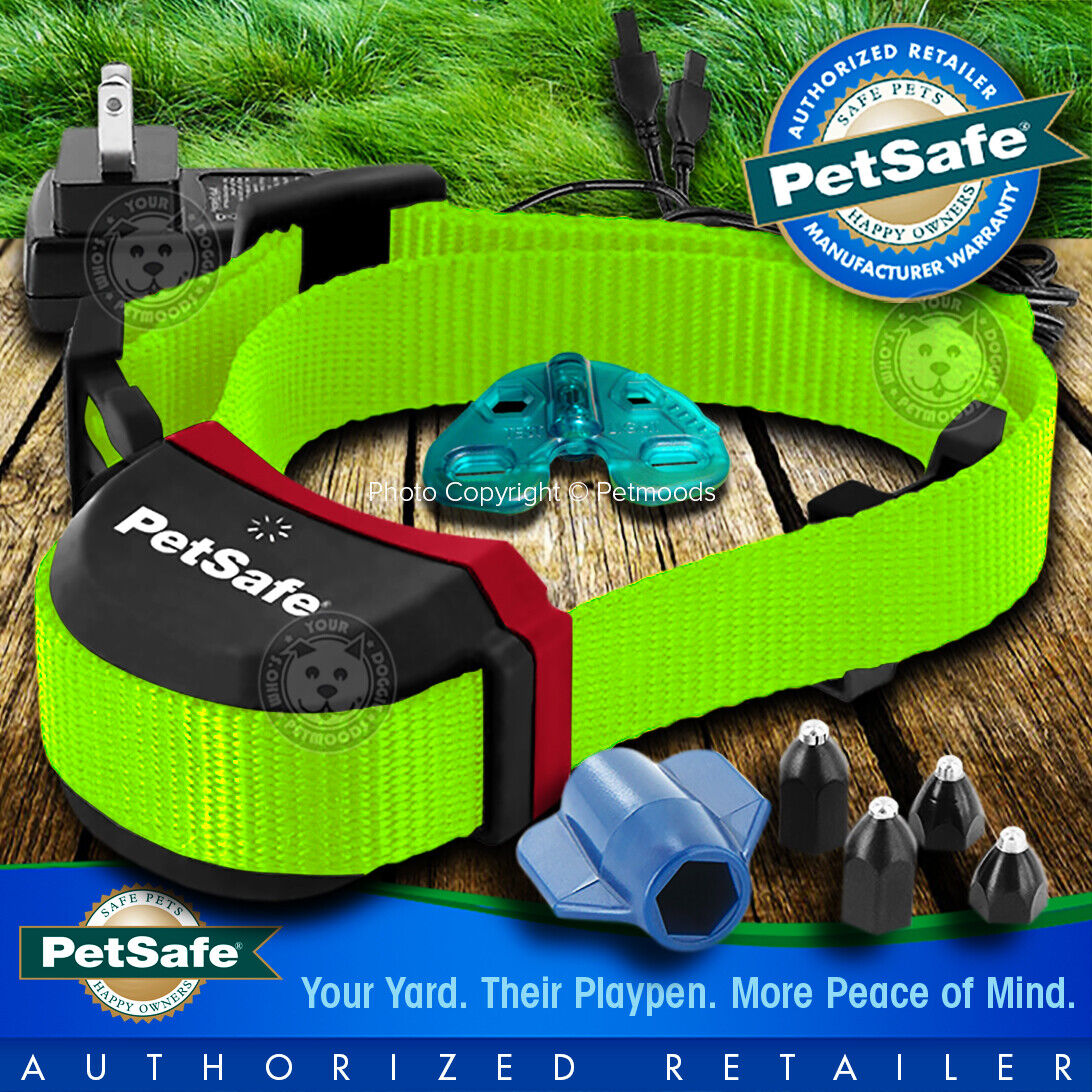 PetSafe Stubborn Stay and Play Rechargeable Wireless Dog Col