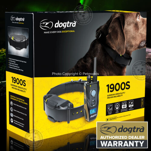 Dogtra 1900S IPX9K Remote Dog Training Collar 3/4 Mile High Power Trainer