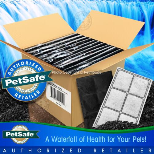 PetSafe Drinkwell 12-PK Premium Charcoal Filters Platinum Mini Zen Pet Fountains