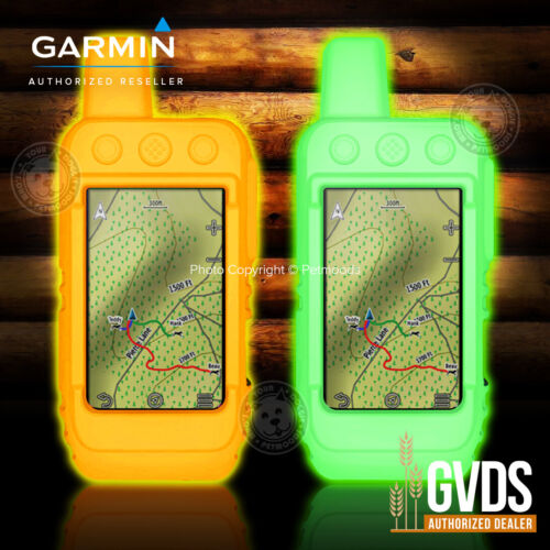 Garmin Alpha 200i Flexible Protective Silicone Gel Cover Case Night Glow by GVDS