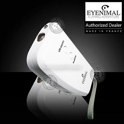 Eyenimal Dog Repeller Ultrasonic 48 Feet Pet Cat Deterrent Flashlight Built-In
