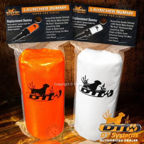 DT Systems Feather-Weight Super Pro Launcher Dummy Blaze Orange, White