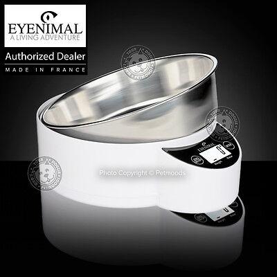 Integrated Bowl - Eyenimal Intelligent Pet XL Bowl Integrated Scale Dog Cat 1.8lbs Food-Liquids