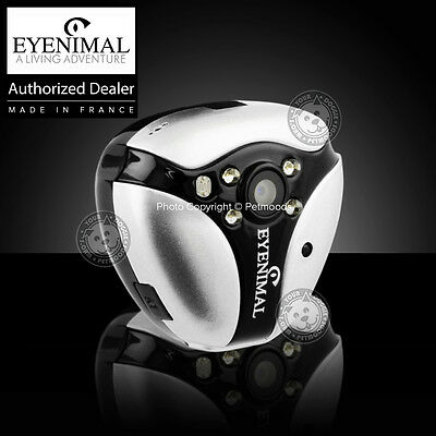 Eyenimal Cat VideoCam Video Action Camera Sound Night Vision NanoCam Dog Collar