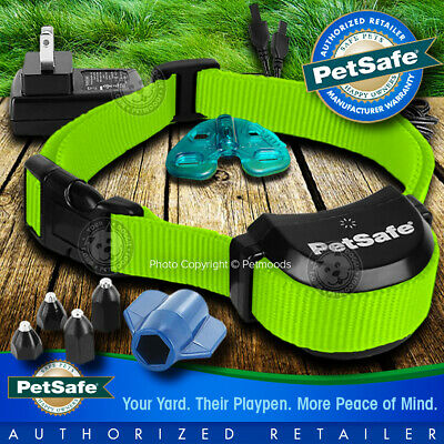 Rechargeable Collar Receiver - PetSafe Stay and Play Rechargeable Wireless Receiver Dog Collar Lime Green Strap