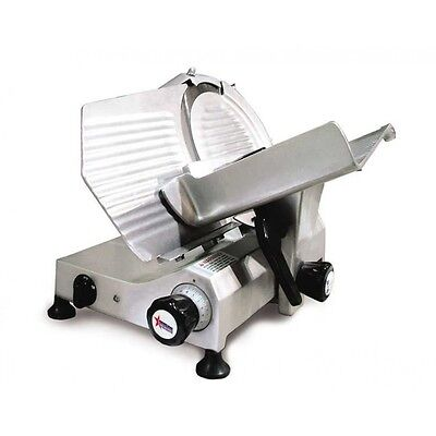 Omcan Usa 300e 12 Inch Gravity Feed Manual Meat Slicer