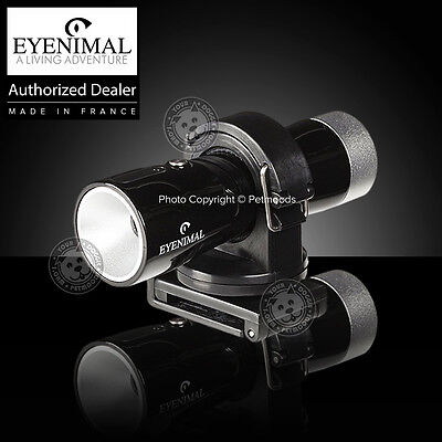 Eyenimal VideoCam Waterproof Outdoor Dog Collar Video Camera Action w/ Hat/Strap