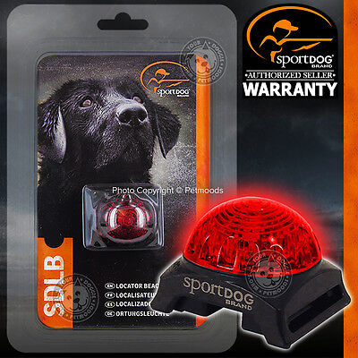 SportDOG Locator Dog Pet Collar Safety Beacon Red Light Adapter Carabiner Clip