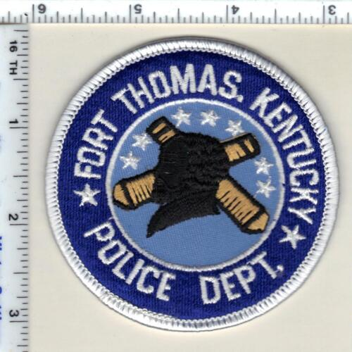 Fort Thomas Police (Kentucky) Shoulder Patch - new from 1990