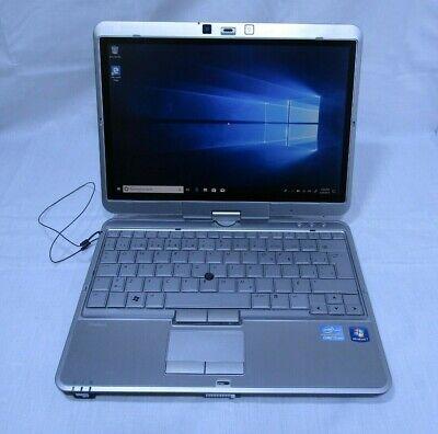 HP Elitebook 2760p Laptop Computer, i5, 4 GB, 120GB SSD, Win 10, WORKS, READ!