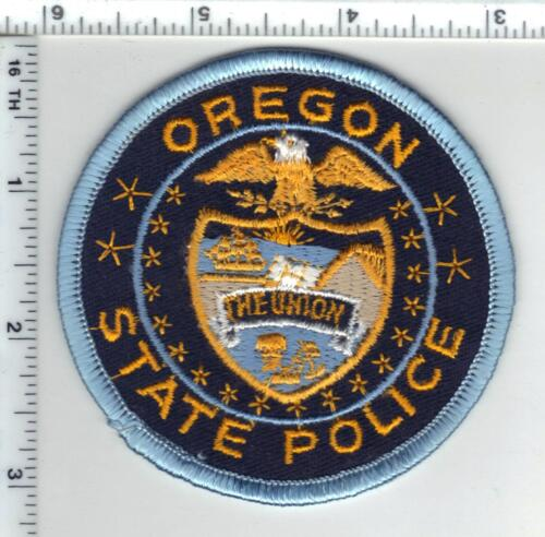 State Police (Oregon) Shoulder Patch from the early 1980