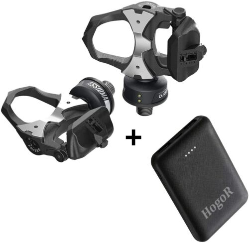 FAVERO Assioma UNO Side Pedal Based Power Meter with 10000 mAh Power bank
