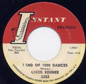 Chris Kenner Land Of 1000 Dances Thats My Girl