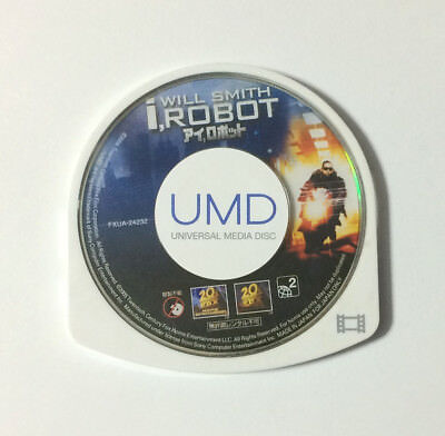 USED PSP Disc Only UMD Video i, ROBOT JAPAN Will Smith import Japanese