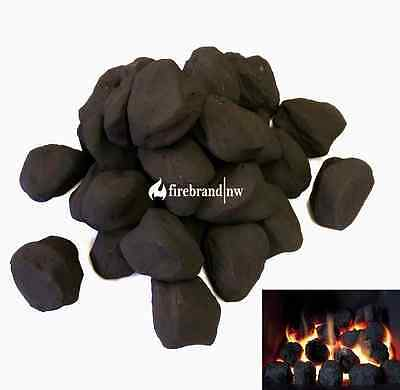 22 replacement cast coals for gas fires imitation coal ceramic live flame loose