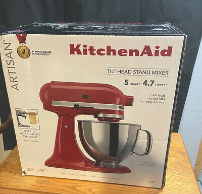 NEW Artisan Design Series KitchenAid 5-Qt Tilt-Head Stand Mixer Candy Apple Red