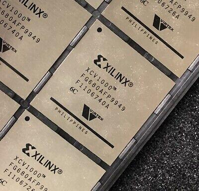 Xilinx Xcv1000-6fg680c Ic Virtex Fpga 512 Io 680fbga New