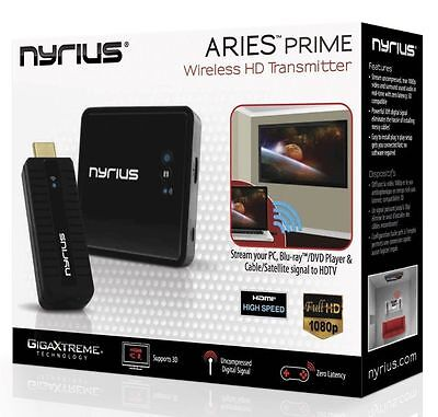 Nyrius ARIES NPCS549 HD 1080p 3D Wireless Video HDMI Transmitter & Receiver ✔✔