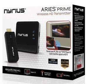 Nyrius ARIES NPCS549 HD 1080p 3D Wireless Video HDMI Transmitter & Receiver ✔✔