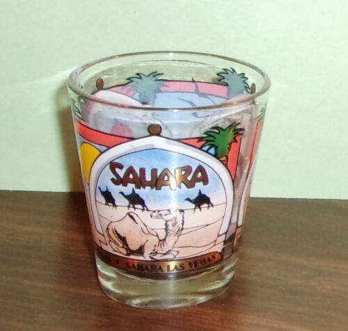 Casino Shot Glass - SAHARA Las Vegas - Good Graphics
