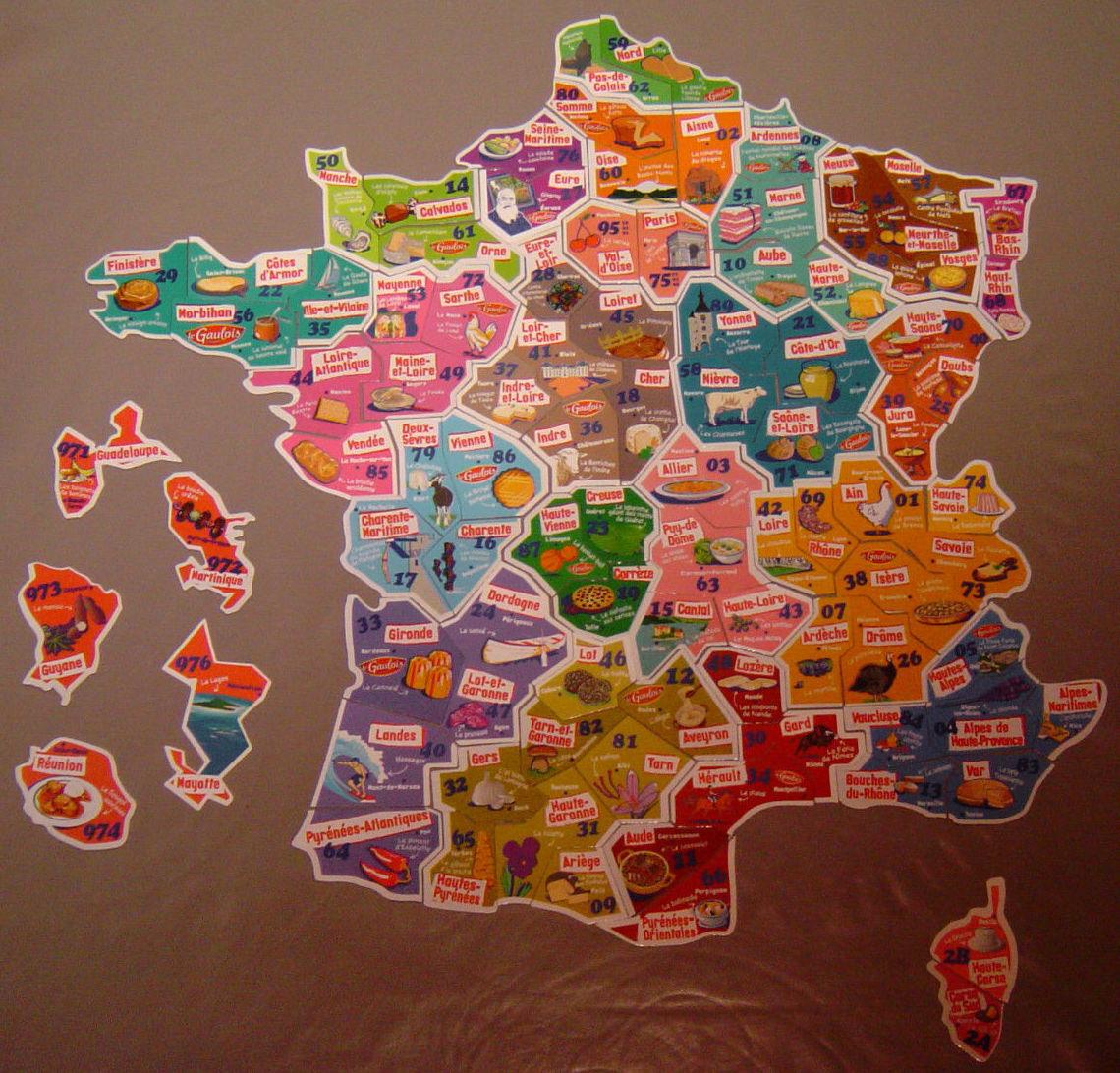 le gaulois - departement - magnets départ aimant collection au choix à 1€ pièce