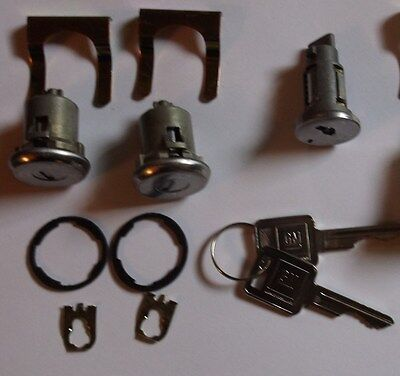 (1967-1972 Chevy GMC Truck Ignition and Door Locks With 2 Matching GM Key's)