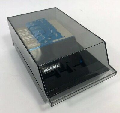 Rolodex Vip -24c Business Card File New Cards And Complete Index Tabs
