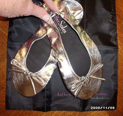 Ballet slippers After Soles Ballet Flats~SILVER