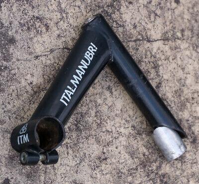 Vintage ITM Italmanubri Bicycle Stem 130 mm Length 22.0 mm Steerer 25.4 mm Quill